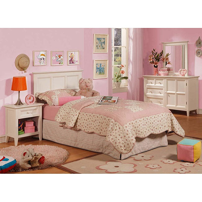 The palisades youth distressed white bedroom set - Distressed bedroom furniture sets ...