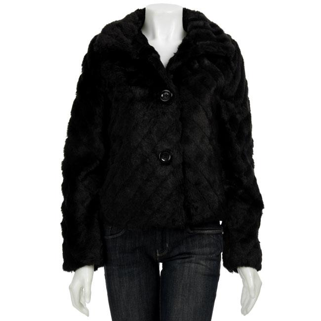 Coffee Shop Women's Faux Fur Jacket