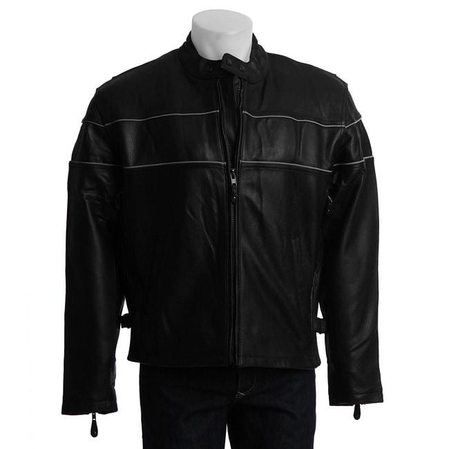 Men's Cowhide Racer Jacket