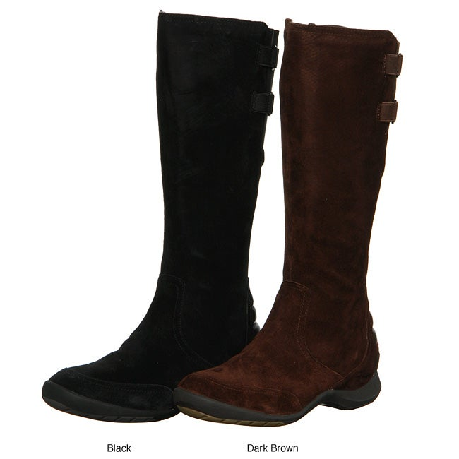 Innovative WOMENS HUSH PUPPIES BLACK CHAMBER LEATHER KNEE HIGH RIDING BOOTS SIZE