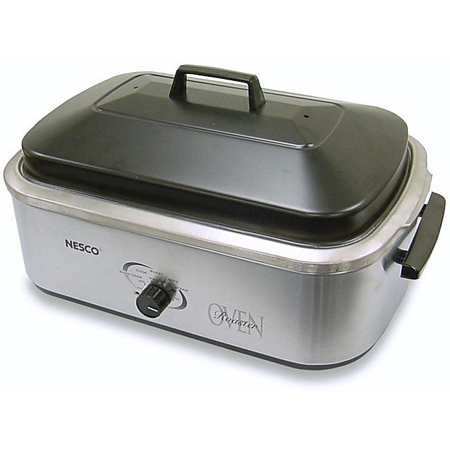 Proctor Silex 32230a Stainless Steel Roaster Oven 22: Nesco 18-quart Stainless Steel Roaster Oven