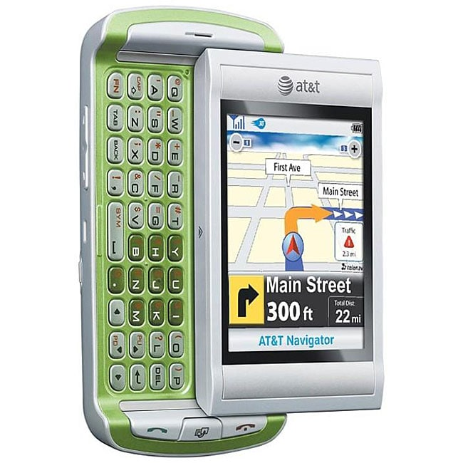AT&T QuickFire GTX75 Green 1.3MP GSM Cell Phone (Refurbished)