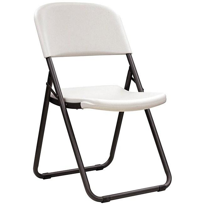 Lifetime Loop Leg Folding Chairs (Pack of 4)