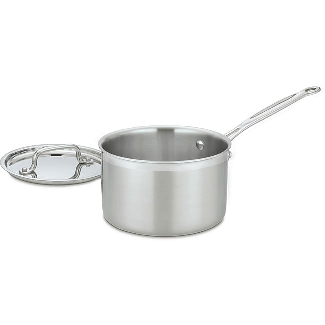 Cuisinart MCP194-20 Multiclad Pro 4-quart Saucepan with Cover