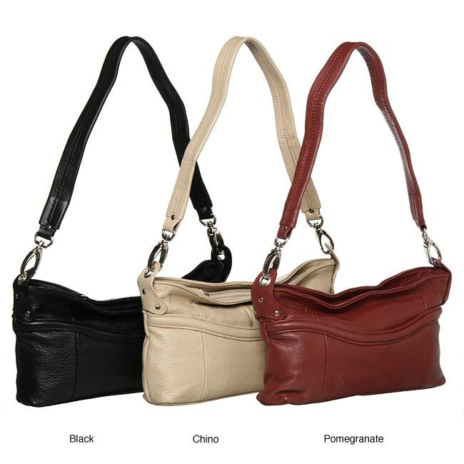 Stone Mountain 'Artesida' Small Leather Hobo Bag