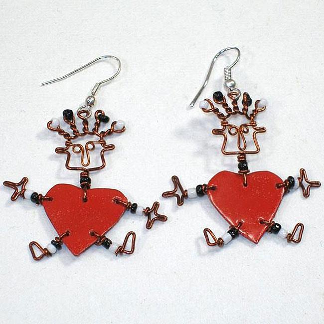 Valentine's Hope Earrings (Kenya)