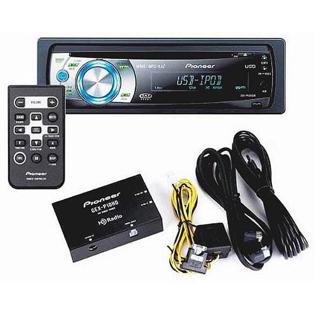 Pioneer DEH-P4001HD Car CD Receiver and HD Radio (Refurbished)