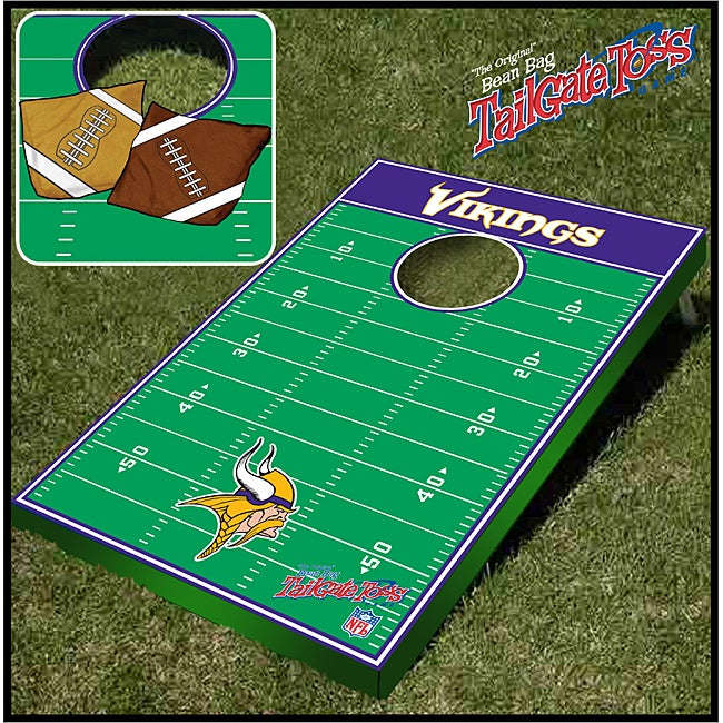 Officially Licensed NFL Minnesota Vikings Tailgate Toss Game