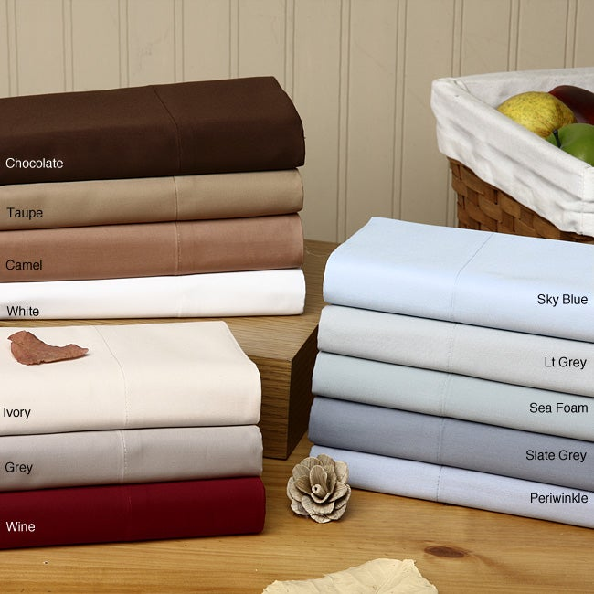 Egyptian Cotton Sateen 700 Thread Count Sheet Set