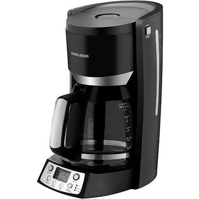 Black & Decker 12-cup Programmable Coffee Maker - 12541951 - Overstock.com Shopping - Great ...