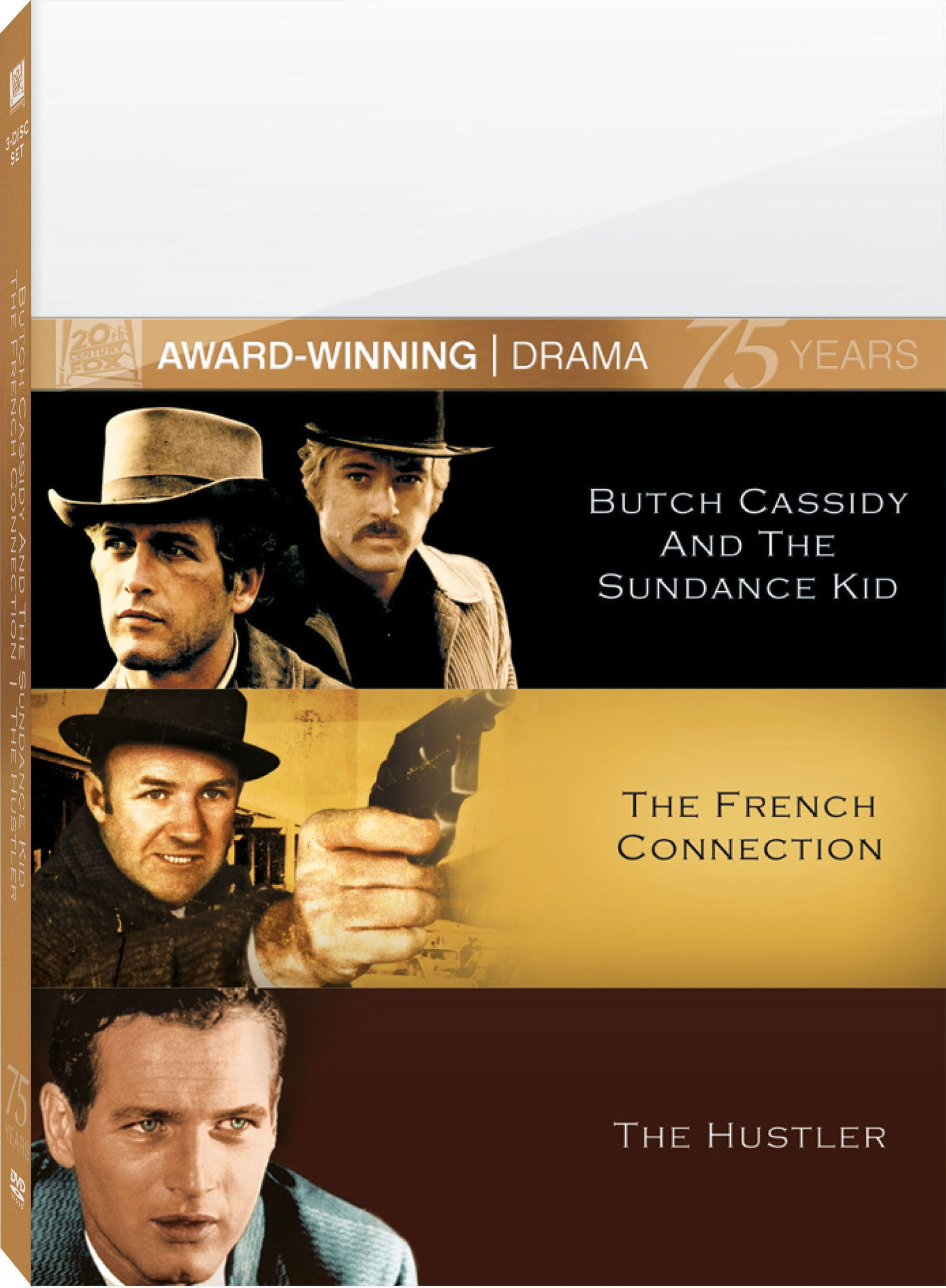 Butch Cassidy And The Sundance Kid/The French Connection/The Hustler (DVD)