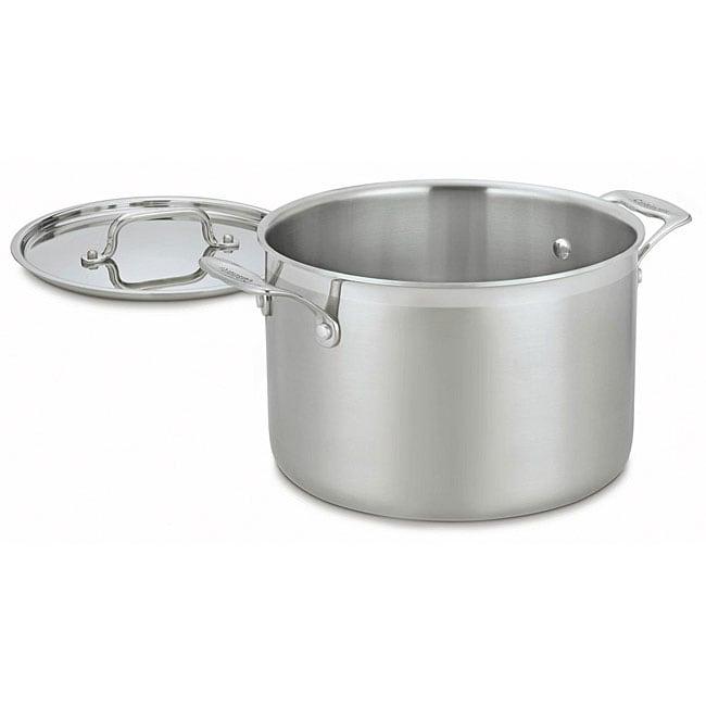 Cuisinart MCP66-24 Multiclad Pro Stainless Steel 8-quart Stockpot
