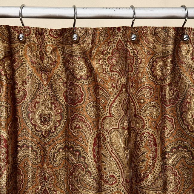 Croscill shower curtain