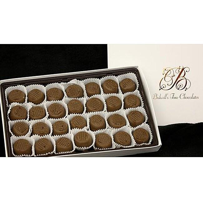 Bidwell Candies 1-pound Chocolate Vanilla Creams Gift Box