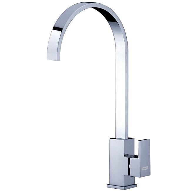 baden bath cubic tall gooseneck pivoting chrome faucet overstock