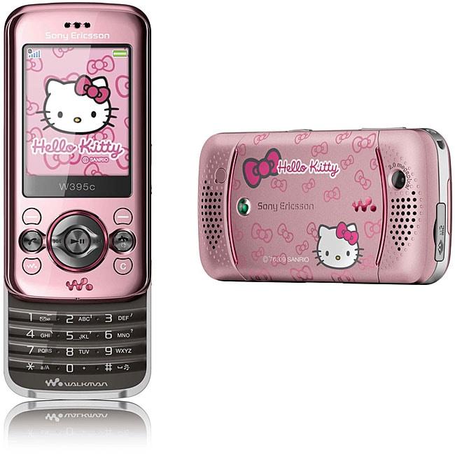 Sony Ericsson W395i Hello Kitty Unlocked Cell Phone