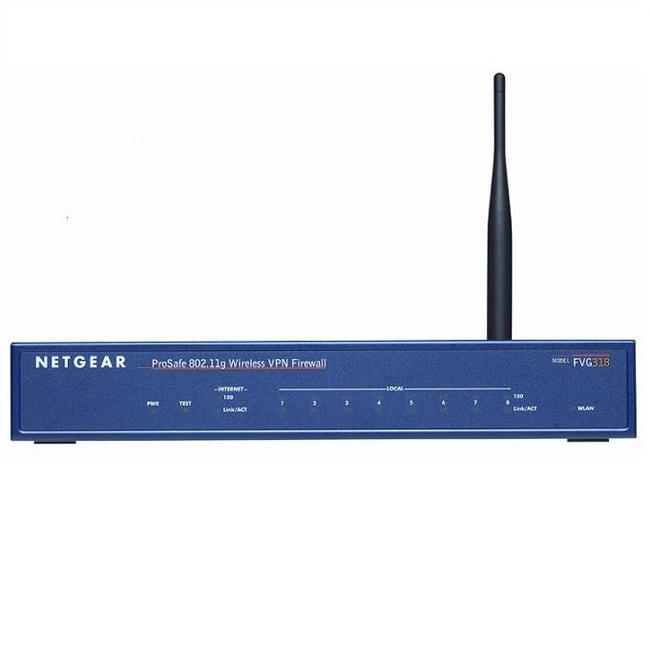 NETGEAR ProSafe 802.11g Wireless Router (Refurbished)