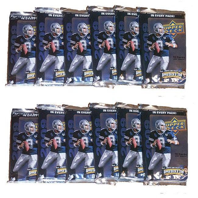 NFL Upper Deck 2009 12-pack Trading Cards