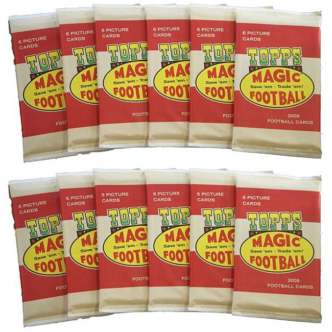 NFL Topps Magic 2009 Trading Card Packs (Box of 12)