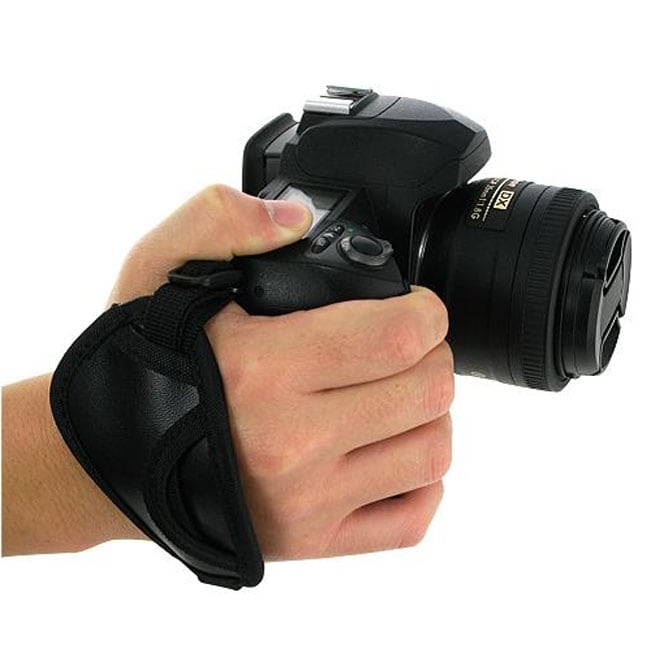 Black Heavy-duty Camera Hand Strap
