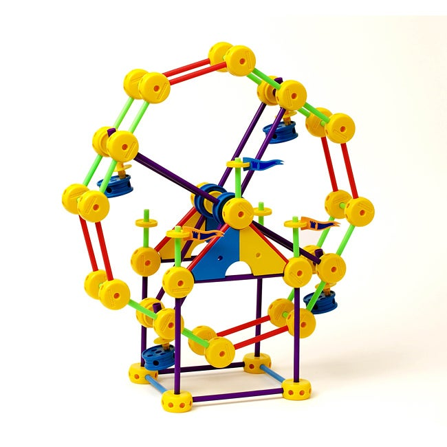 Superstructs Super Set 230-piece Plastic Construction Toy with Guide
