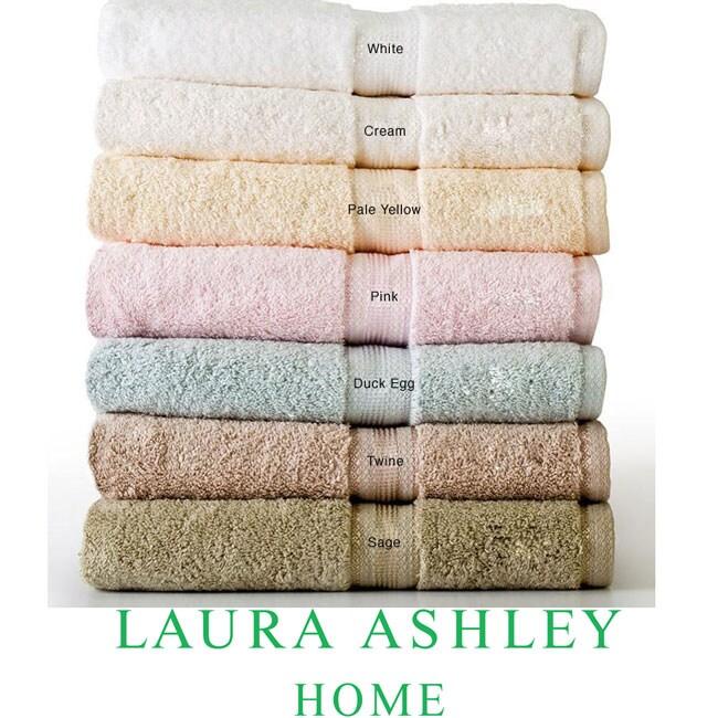 Laura Ashley 600-gram 6-piece Towel Set