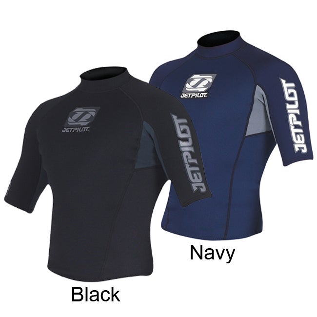 Jet Pilot Men's Flight Jacket Wetsuit Neoprene Top