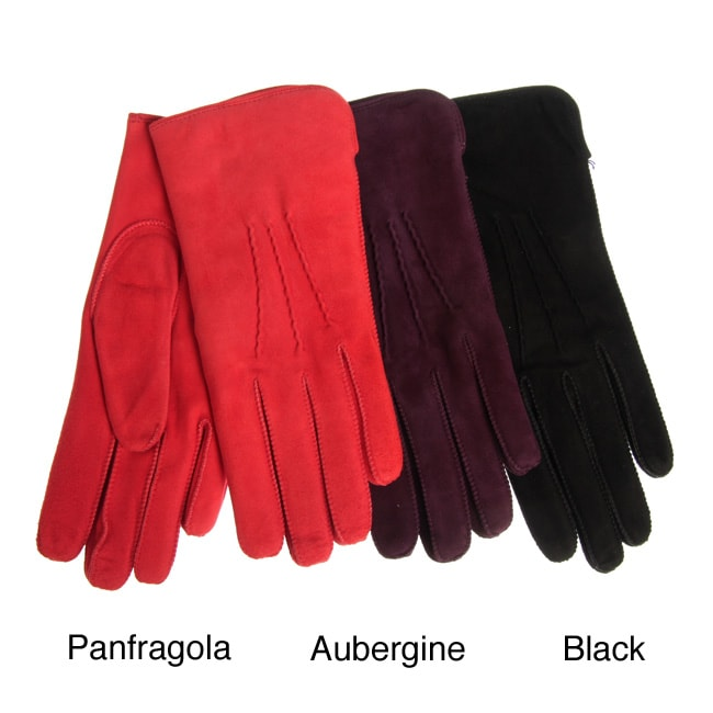 Portolano Women's Suede Gloves