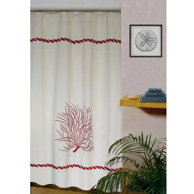 Tommy Bahama Bonny Cove 72 Inch Shower Curtain