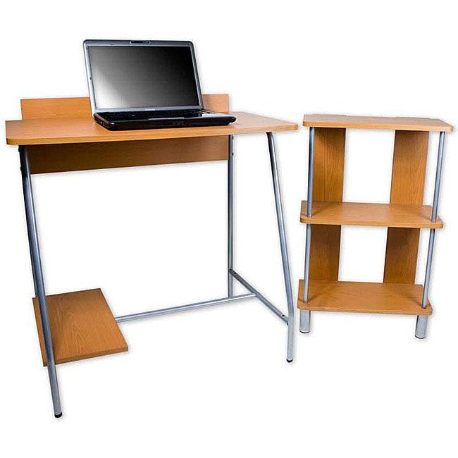 Orispace Desk and Bookcase Set