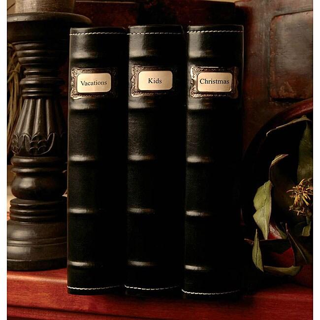 Bellagio Italia Book Safe (Pack of 3)