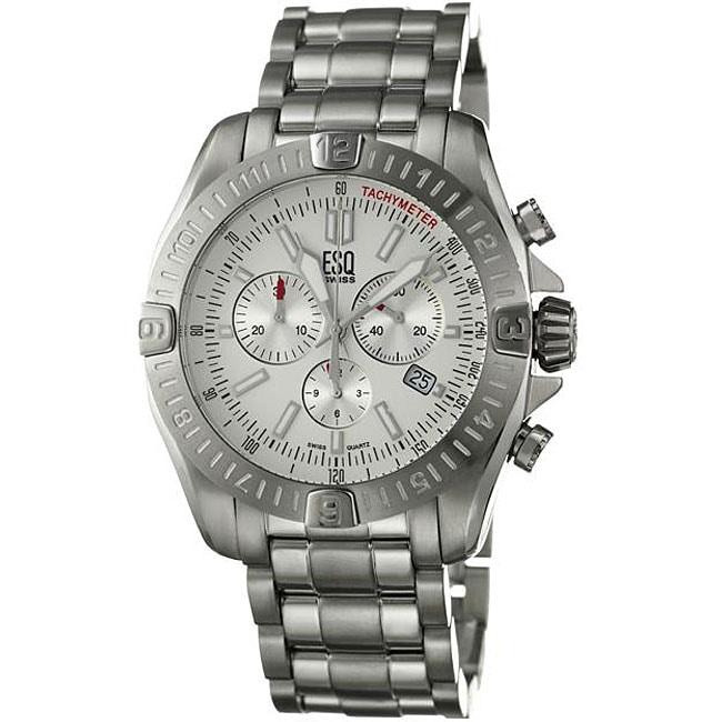 ESQ by Movado Men's Stratus Stainless Steel Chronograph Quartz Watch