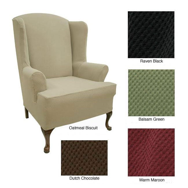 Stretch Wing Chair Cover Overstock