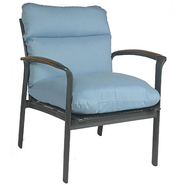 Sky Blue Outdoor Club Chair Cushion 12645608 Overstock