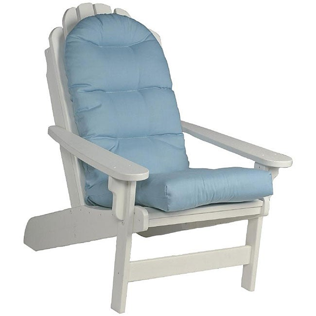 ... Blue Patio Cushions By Outdoor Blue Adirondack Chair Cushion 12645612  ...