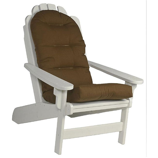 Outdoor Brown Adirondack Chair Cushion