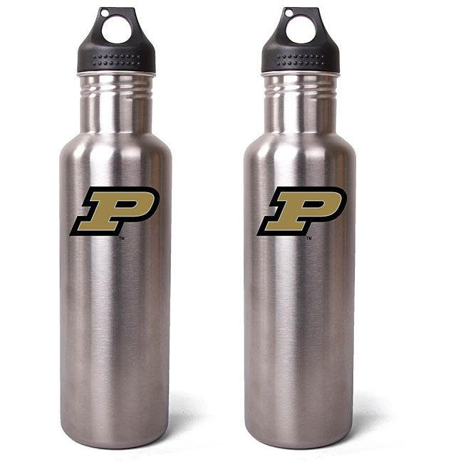 Pinemeadow Purdue Boilermakers 27-oz Stainless Steel Water Bottles (Pack of 2)
