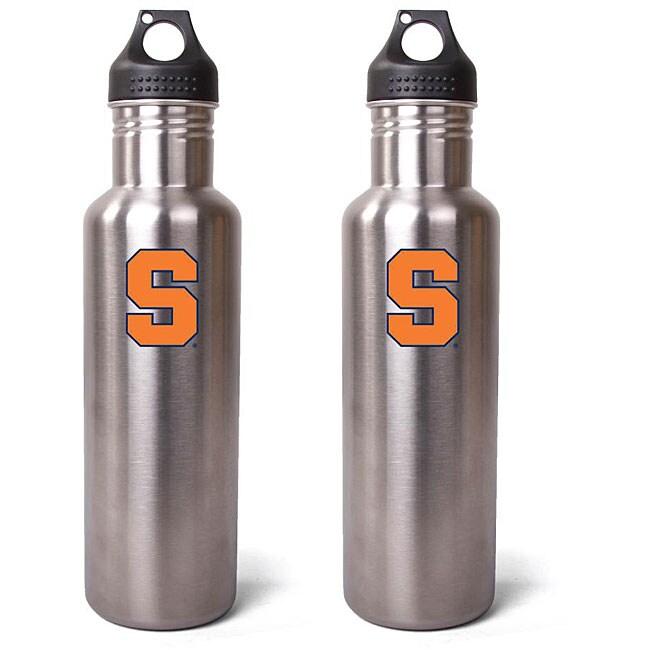 Syracuse Orangemen 27-oz Stainless Steel Water Bottles (Pack of 2)