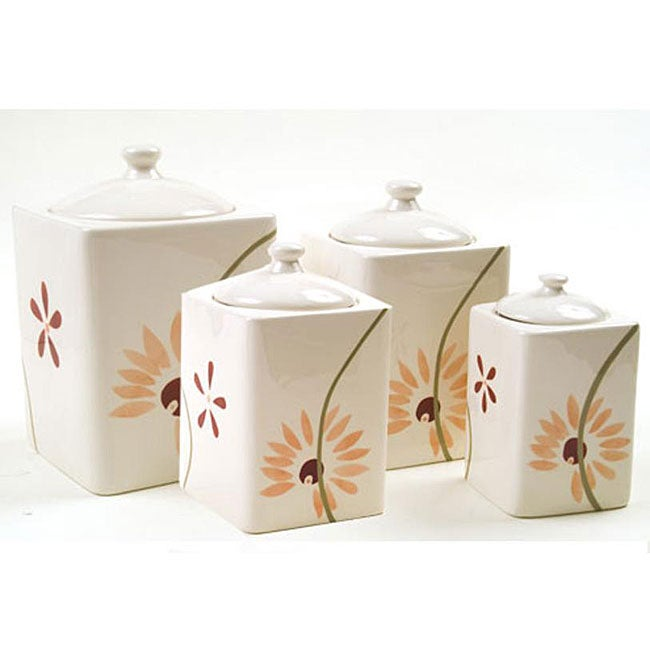 Corelle Pretty Pink Collection Corelle 'pretty Pink' Canister