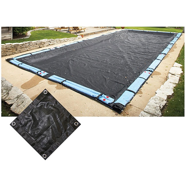 Above ground 18x36 foot rectangular mesh pool cover - Above ground swimming pool covers reviews ...