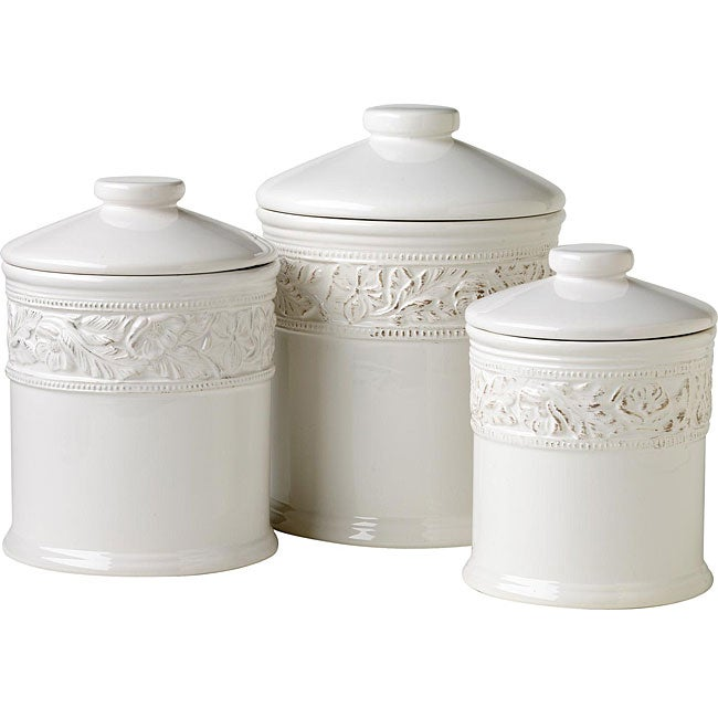 pfaltzgraff country cupboard canister set 2