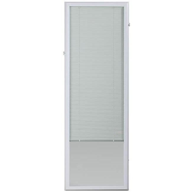 ODL White Enclosed Door Blind (22 x 64)