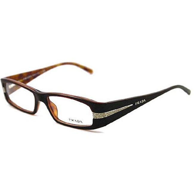 Prada Green Eyeglass Frames : Prada Womens VPR 12H Plastic Eyeglasses - 12665715 ...