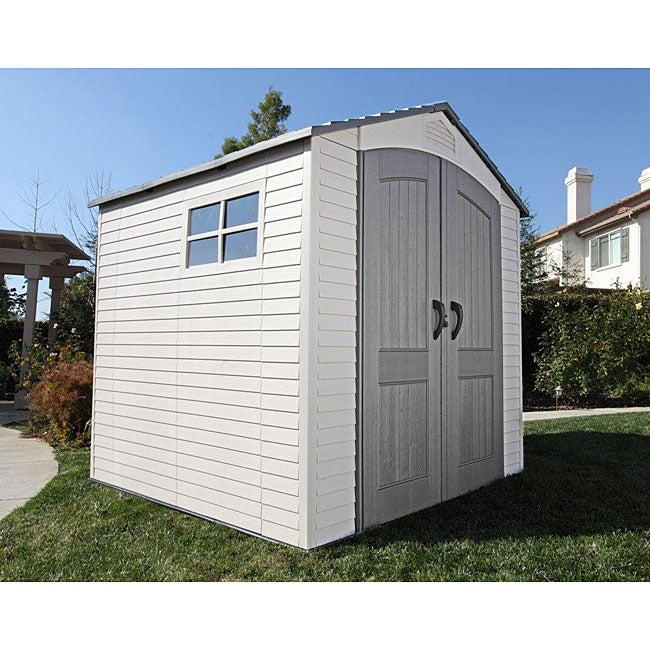 Lifetime Deluxe Storage Shed (7' x 7')