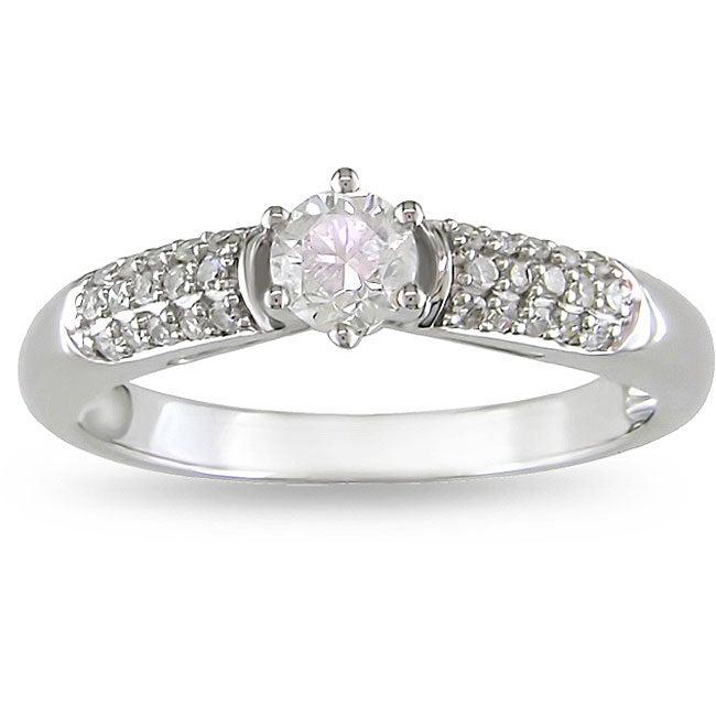 14k Gold 1/2ct TDW Diamond Engagement Ring (H-I, I1-I2)