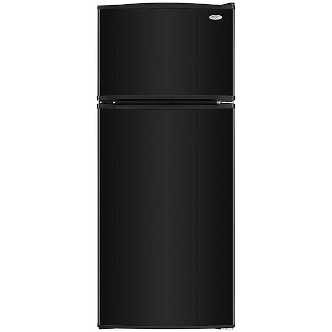 Whirlpool 18 cubic foot black top mount refrigerator for 18 cubic foot french door refrigerator
