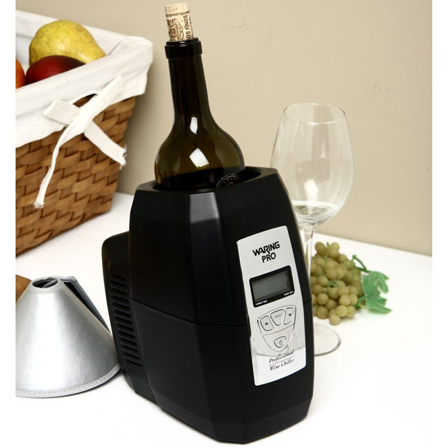 waring single bottle wine chiller Purchase our winekeeper 6 bottle wine tasting station with chiller #19461 only at iwa wine accessories.