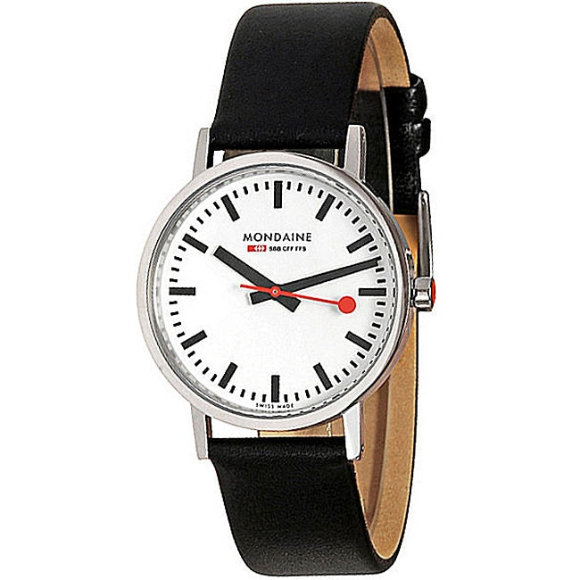 Mondaine Men's Swiss Railway New Classic Watch