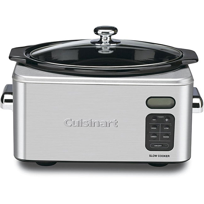 Cuisinart PSC-650 6.5-quart Stainless Steel Programmable Slow Cooker