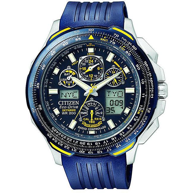 Citizen Men's Eco-Drive 'Blue Angels SkyHawk' Chronograph Watch